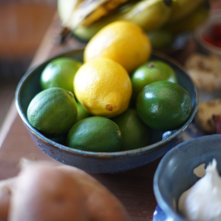Lemons and limes and what food are important to eat during the quarantine.